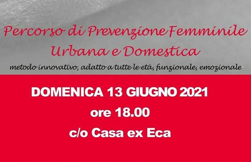 Calitri, percorso di prevenzione femminile urbana e domestica