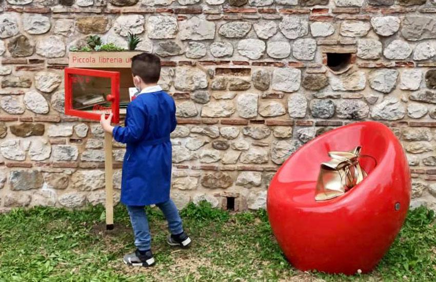 Un sorriso collettivo la prima libreria urbana dei bambini a Sant'Angelo dei Lombardi