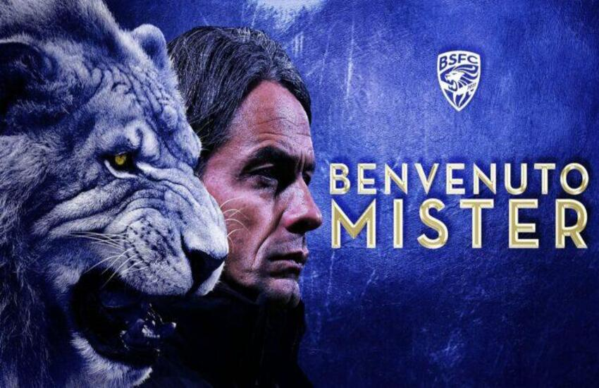 Serie B: Brescia, Filippo Inzaghi nuovo allenatore