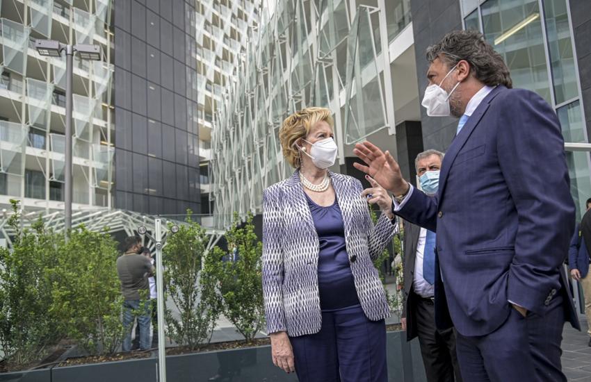 Milano: Vaccinazioni anti-Covid, inaugurato primo hub aziendale