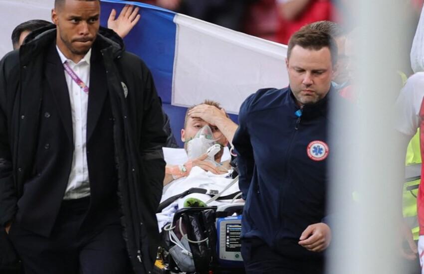 Euro 2020: Uefa, 'Eriksen è stato stabilizzato'. È vigile e cosciente