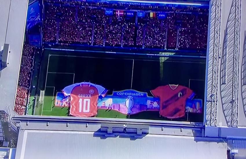 Euro 2020: Danimarca-Belgio, al 10' tutti fermi per omaggiare Eriksen – Video