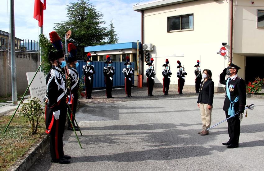 L'Aquila: celebrazione del 207° annuale della fondazione dell'Arma dei Carabinieri