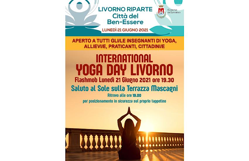 Yoga International Day: lunedì 21 giugno alla Terrazza Mascagni