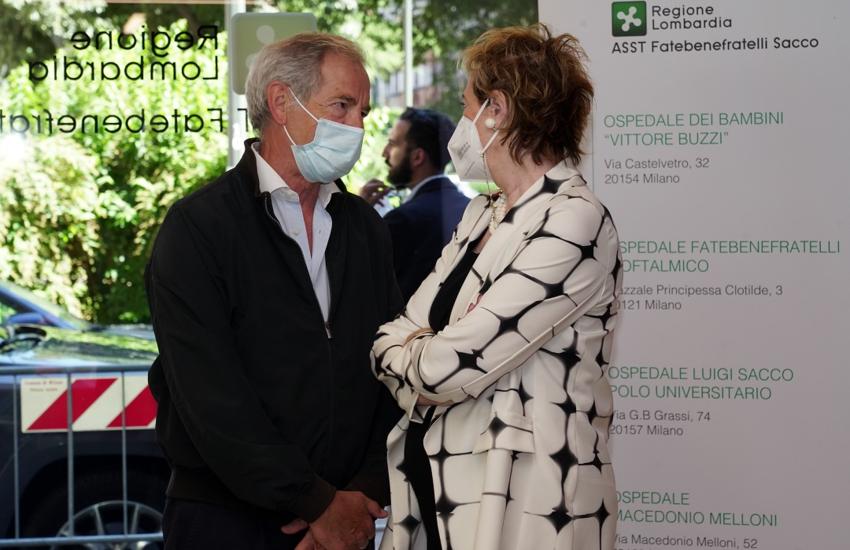 Covid: Moratti, 'Variante Delta al 6% in Lombardia'