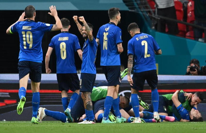 """Euro2020, """"Ma quale dieta"""" il tormentone degli Azzurri diventa virale"""