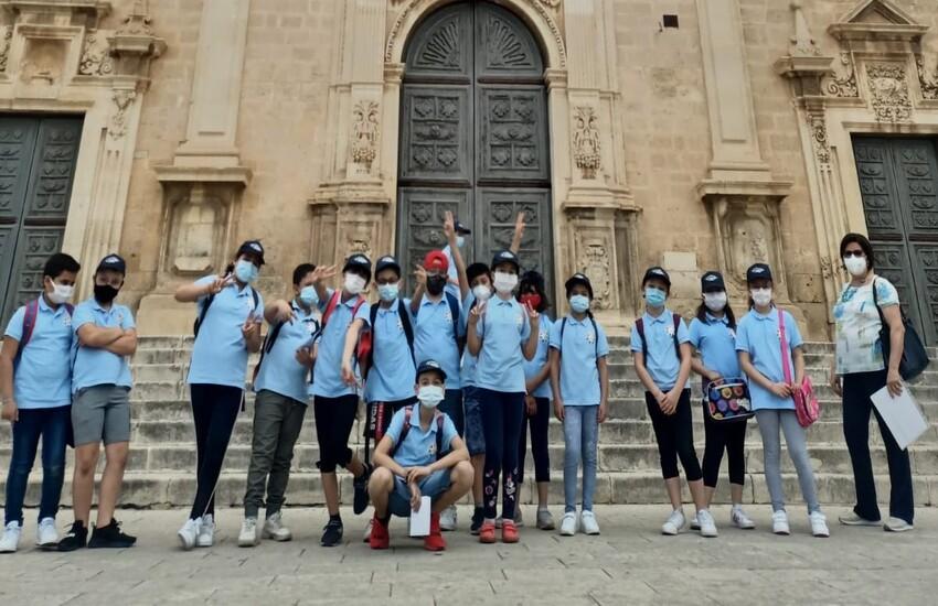 Vittoria, l'ICS 'Caruano' fa lezione all'aperto tra le bellezze della città
