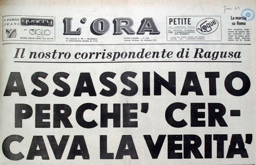 Omicidi Spampinato e Tumino: riaperte le indagini dopo 49 anni