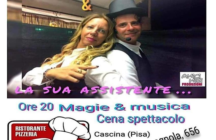 Comicità ' & magia con il mago Calandrino e la sua assistente