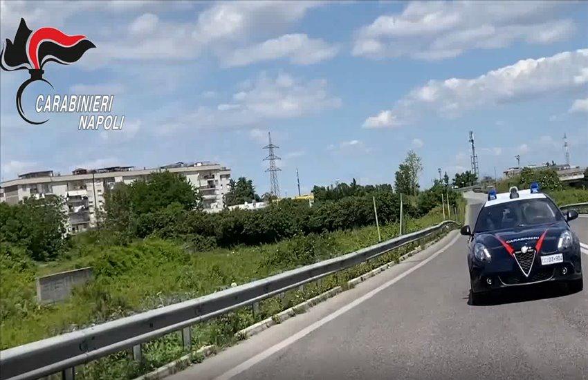 Blocca la città di Arzano a bordo di una Ferrari per la comunione del figlio. Arrestato Pasquale Cristiano