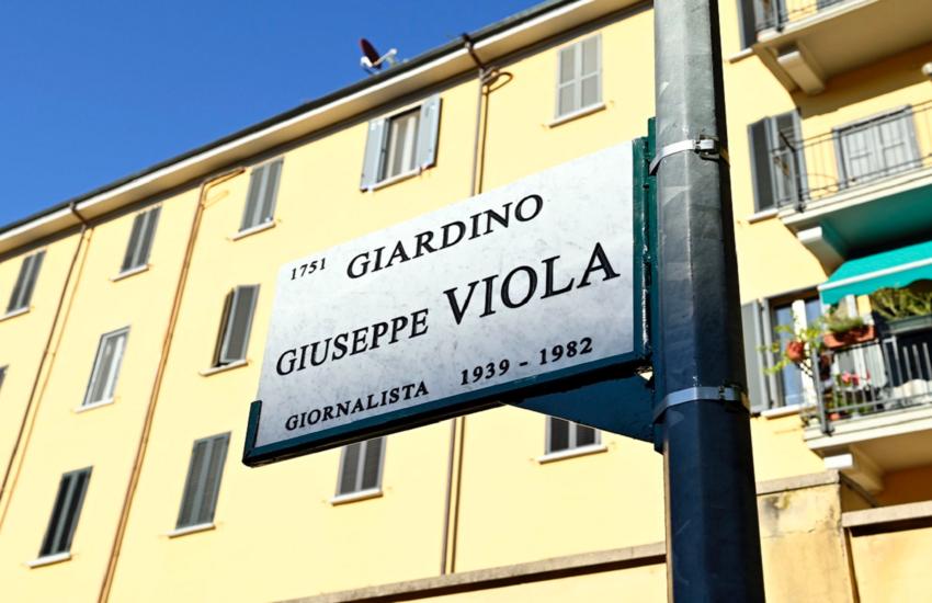 Milano: Un giardino intitolato a Beppe Viola