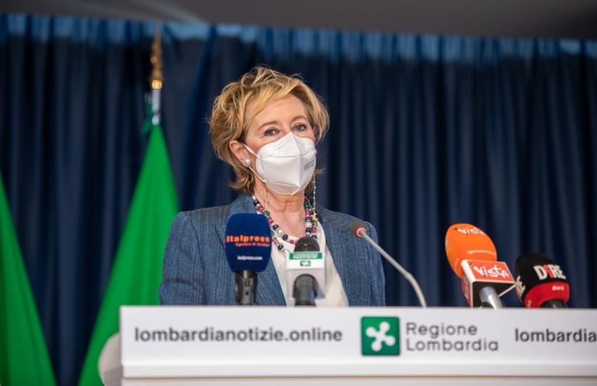 Covid: Moratti, 'Lombardia sarà prima Regione a raggiungere immunità di comunità'