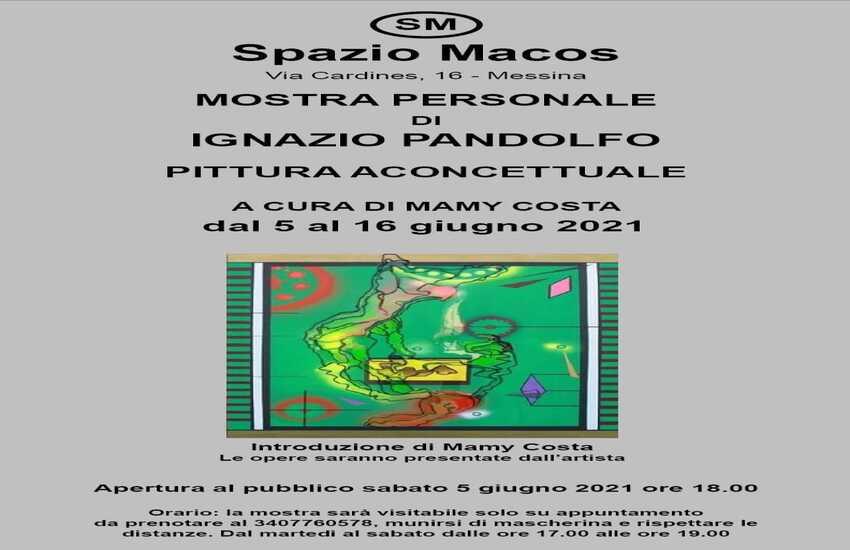 La pittura aconcettuale di Ignazio Pandolfo torna a Spazio Macos dal 5 al 16 giugno