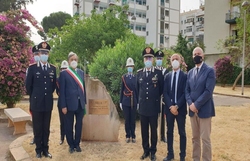 Palermo – Ricollocata la targa commemorativa per Giuseppe Russo