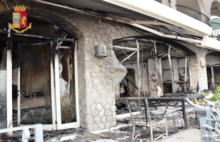 Turista inglese dà fuoco ad una casa vacanze a Massa Lubrense