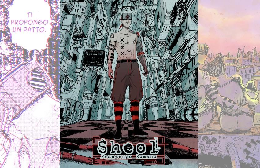 'Sheol', in uscita l'opera prima, a fumetti, dell'autore di Sezze Jahsadx