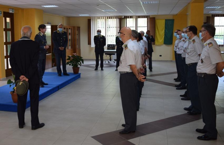 Guardia di Finanza: visita del Comandante Regionale Sicilia, Riccardo Rapanotti