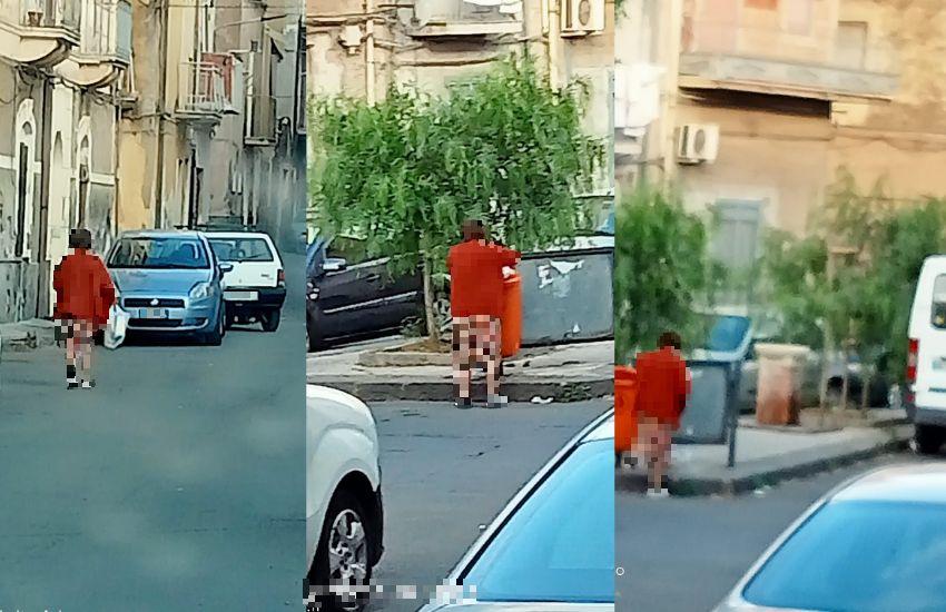 """Adrano, cestini usati come cassonetti. Vito Liotta: """"Credo nell'informazione ma multe per gli indisciplinati"""""""