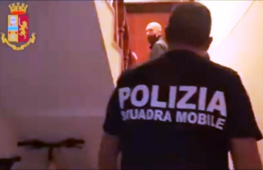 Associazione per delinquere ed estorsione in concorso: arrestato trentenne dalla Polizia