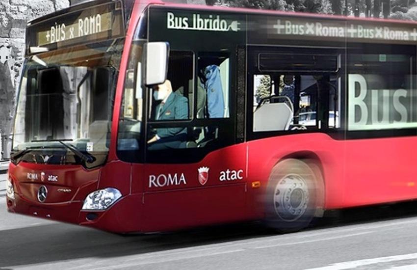 Roma, in servizio altri 60 nuovi bus, 30 sono ibridi