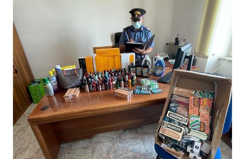 Furto e ricettazione al centro commerciale Itaca a Formia; quattro denunciati