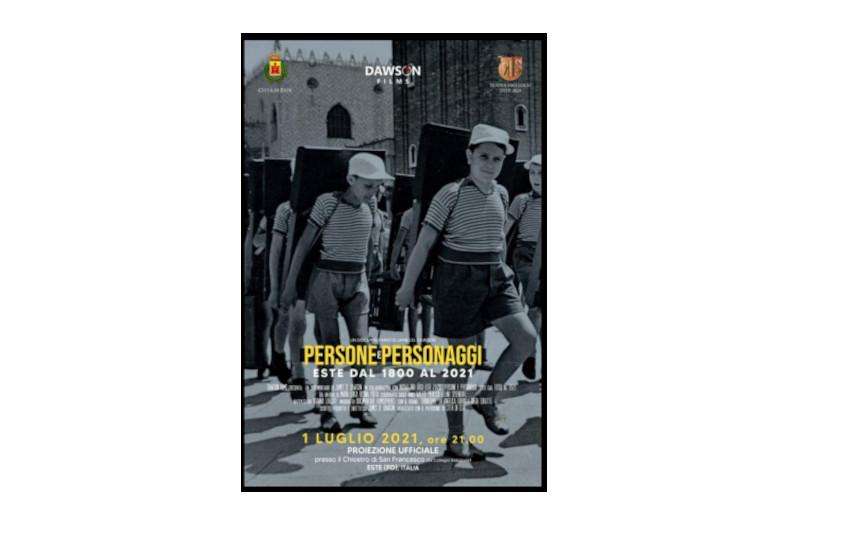 Il primo luglio proiezione del  documentario che racconta Este attraverso i secoli