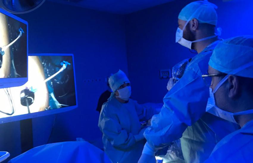 Urologia dell'Ulss 4 al più grande evento nazionale di Chirurgia in diretta