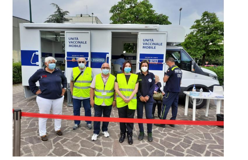 Camper vaccinale dell'Ulss 3:  martedì a Chirignago, mercoledì a Ca' Sabbioni, giovedì al Villaggio Laguna