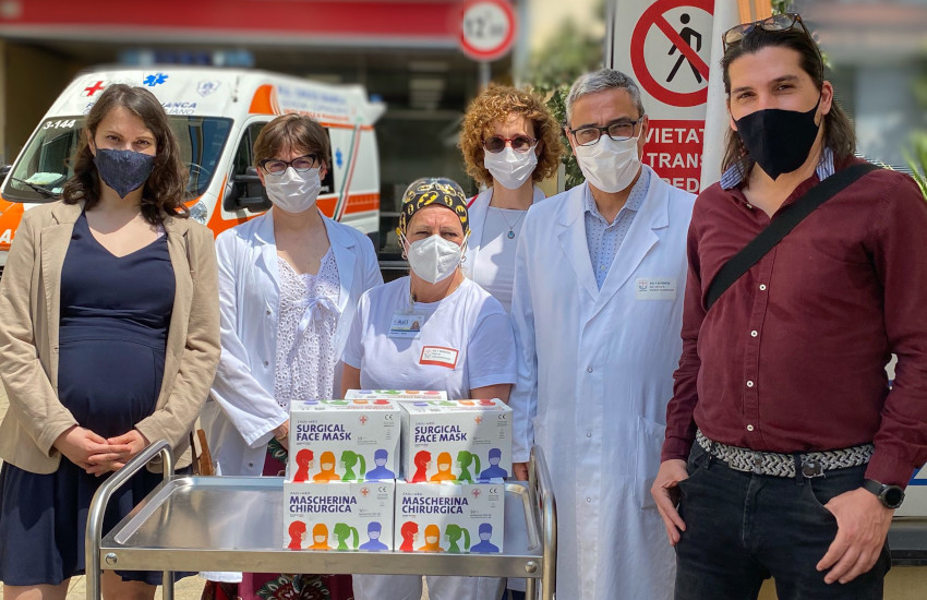 Genova, dall'Associazione Il Buonsenso 200mila mascherine per l'ASL3
