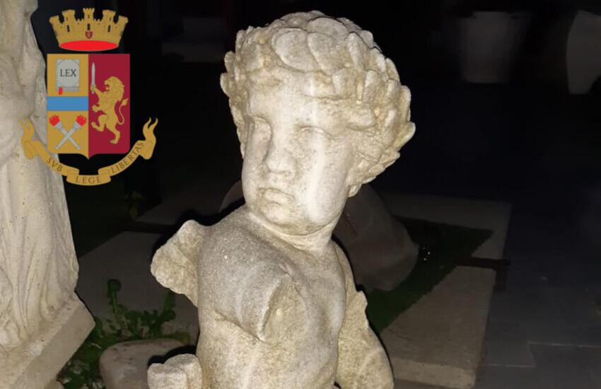 Via Frascati, sequestrati reperti storici di inestimabile valore  grazie alla segnalazione di un archeologo