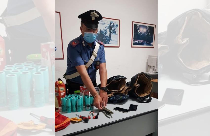 Ladri in azione a Formia: per sfuggire all'arresto dichiarano di avere il covid