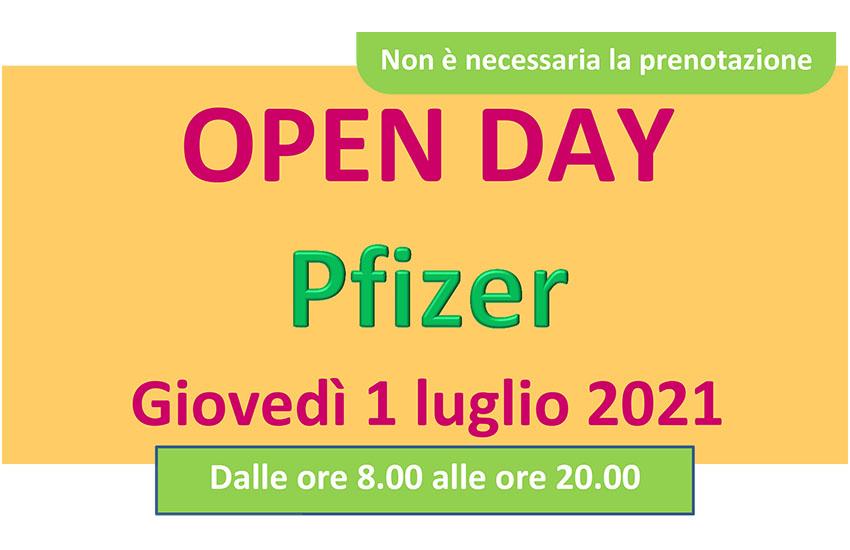 pfizer open day avellino