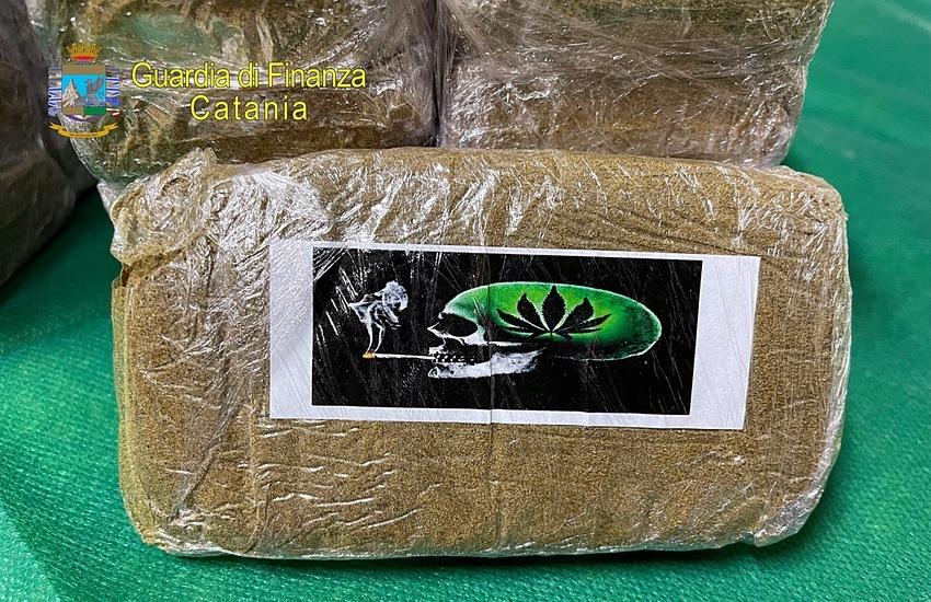 Catania, contrasto alle sostanze stupefacenti, sequestrati 4 kg marijuana