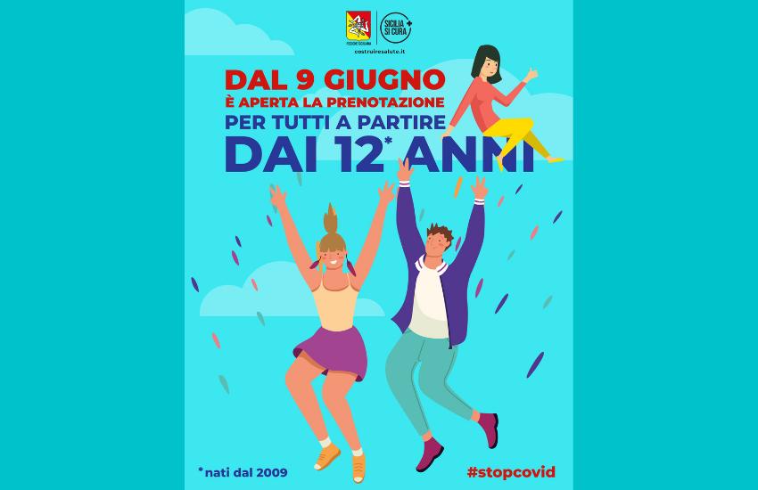 Vaccini, Razza, «Da domani in Sicilia le prenotazioni anche per gli over 12»