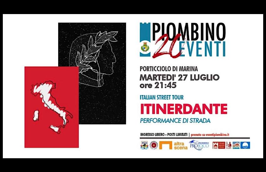 20Eventi:  una serata dedicata al sommo poeta con lo spettacolo ItinerDante