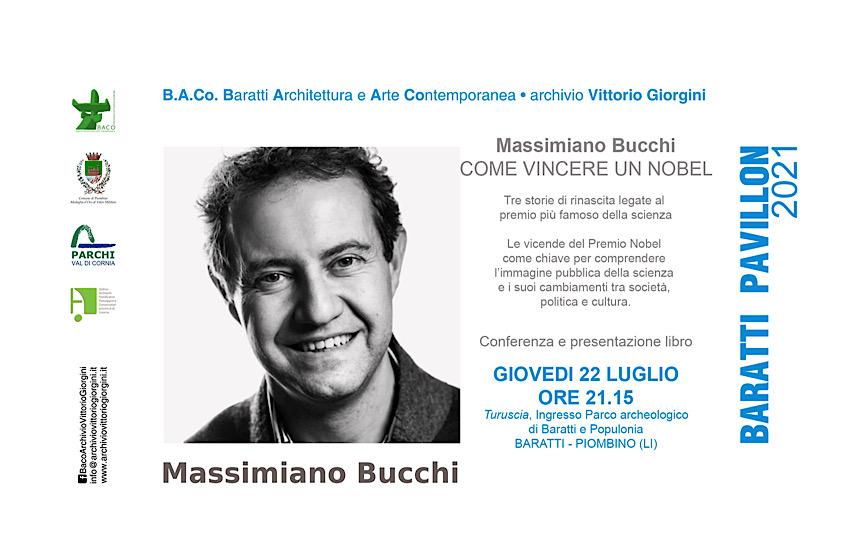 Conferenza di Massimiano Bucchi dal titolo Come vincere un Nobel