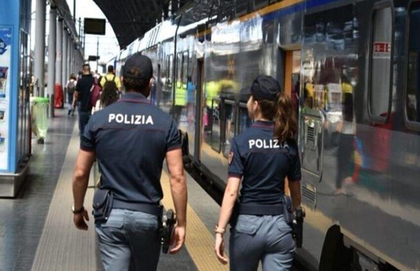 Operazione 'Stazioni Sicure': controlli Polizia nelle stazioni della Lombardia