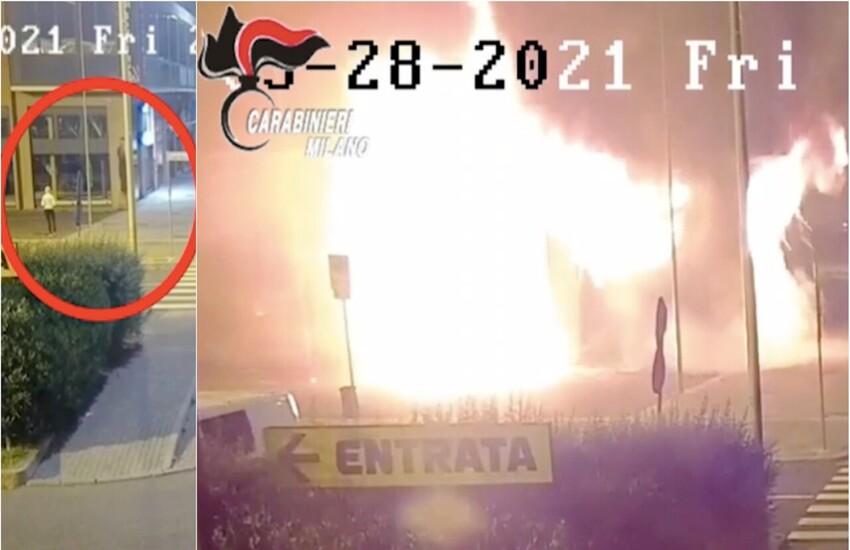 Milano: A fuoco palestra e centro pilates, arrestato dentista e la compagna