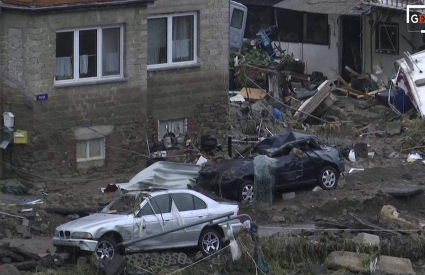 Maltempo in Germania: Case e strade distrutte – Video