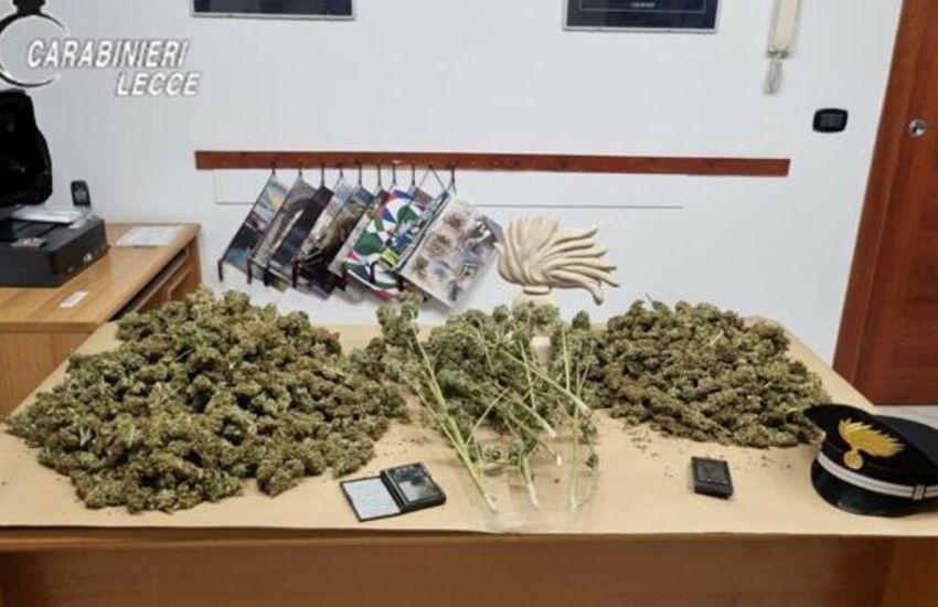 In casa laboratorio per essiccare 3 chili di Marijuana, arrestato per spaccio 47enne