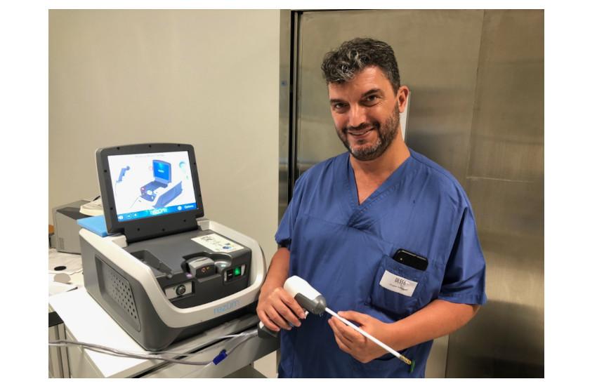 All'ospedale di Schiavonia,  un innovativo metodo per curare l'ipertrofia prostatica