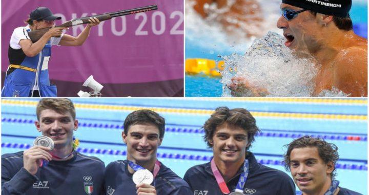 Tokyo 2020: Si arricchisce il medagliere azzurro, altri 2 argenti e un bronzo