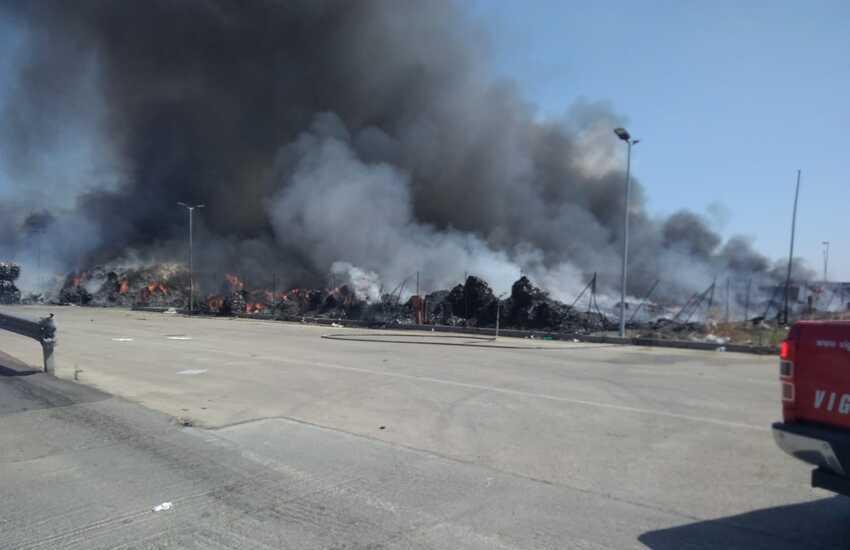 Caltagirone, gravissimo incendio a Kalat impianti, le parole del sindaco Ioppolo