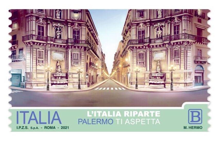 Palermo – Poste Italiane dedica un francobollo speciale alla città