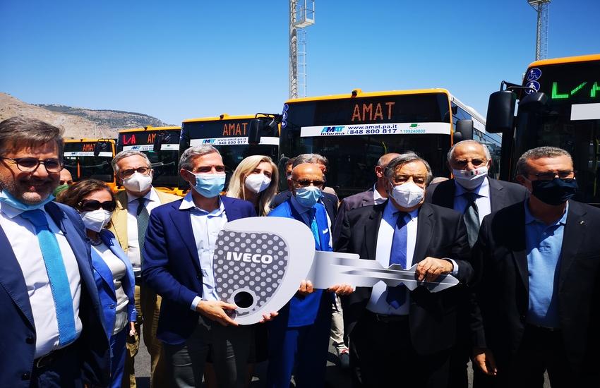 Palermo – Il comune compra 33 nuovi autobus per AMAT