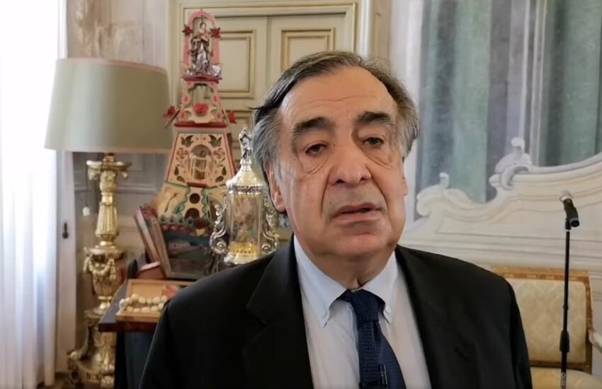 Palermo – Il sindaco Leoluca Orlando aderisce al PD