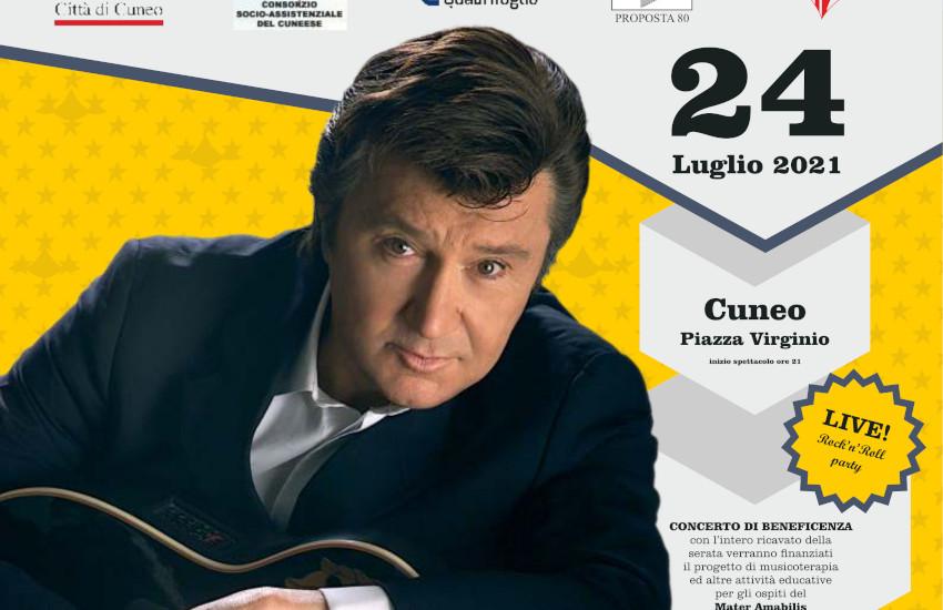 Cuneo, il 24 luglio c'è Bobby Solo con The Beat Circus