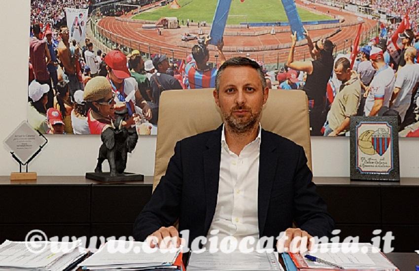 Calcio Catania, Pellegrino resterà direttore area sportiva