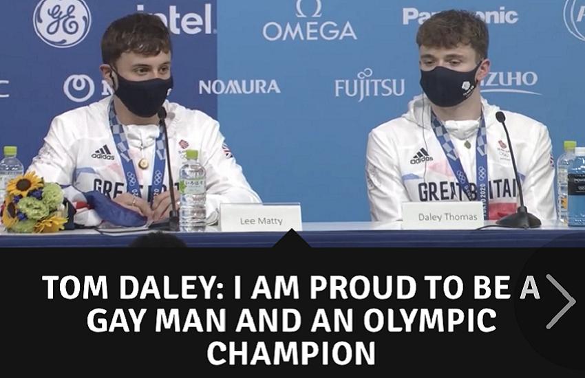 """Medaglia d'oro al tuffatore Tom Daley: sono fiero di essere un gay e un campione olimpico"""""""