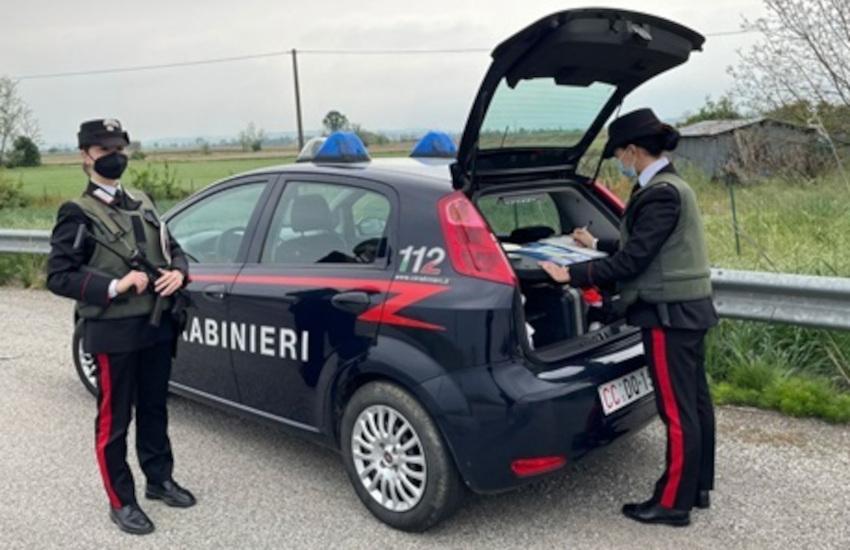 Casale Monferrato (AL), furto in corso Valentino: denunciati 2 pregiudicati